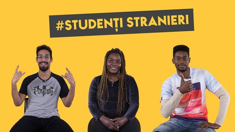"""(video) """"Studiile și viața este ieftină"""". Studenții străini au venit în vizită la HY NO ROCK"""