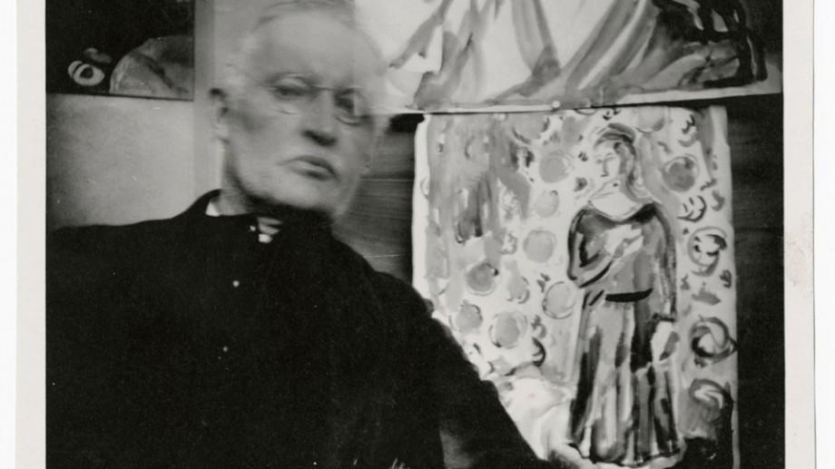 (foto) Selfie-urile lui Edvard Munch. O serie de lucrări în care Munch experimentează cu tehnica și arta fotografică