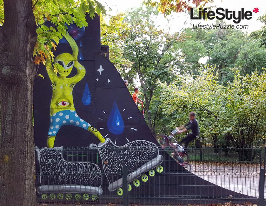Streetart Bucuresti – Parcul Herastrau