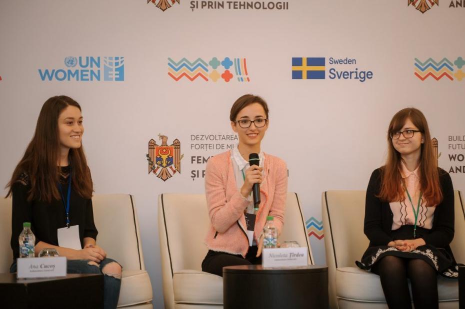 """Nicoleta Țîrdea: """"IT-ul nu este un teren al barbaților – este terenul oamenilor care gândesc, creează și sunt în pas cu inovațiile"""""""