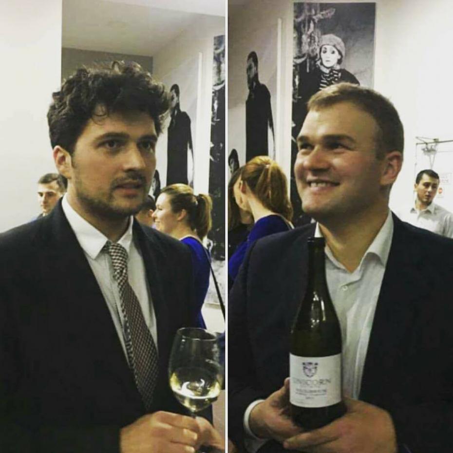 Ion Sîrbuleț și Sergiu Galușca, coproprietari Unicorn Estate Winery