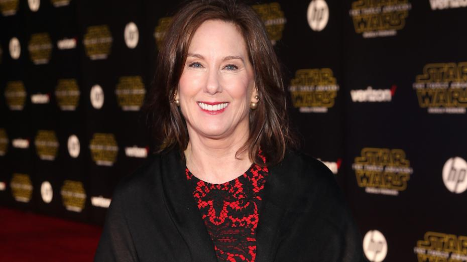HOLLYWOOD, CA - DECEMBER 14:  President of Lucasfilm Kathleen Kennedy attends the World Premiere of ìStar Wars: The Force Awakensî at the Dolby, El Capitan, and TCL Theatres on December 14, 2015 in Hollywood, California.  (Photo by Jesse Grant/Getty Images for Disney)