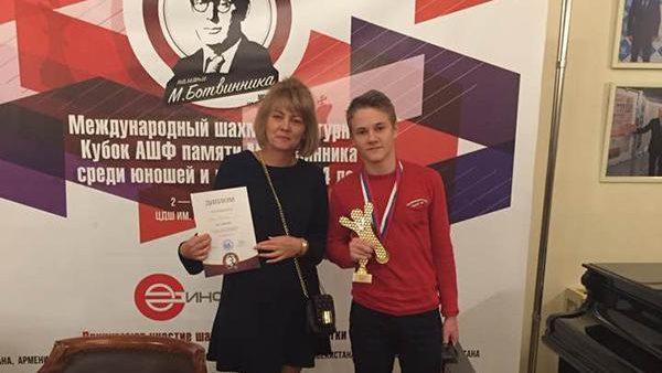 "Ion Schițco a câștigat turneul internațional de șah ""Cupa Botvinnik"", desfășurat la Moscova"