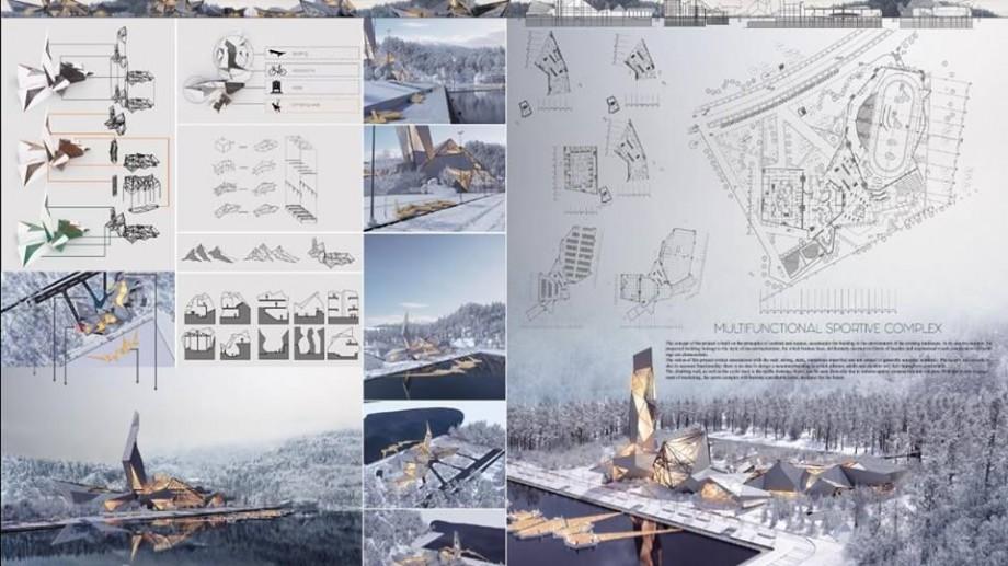 """(foto) Tinerii arhitecți de la UTM, printre primii la concursul """"Proiecte de licență ale școlilor de arhitectură și design"""" din Ucraina"""