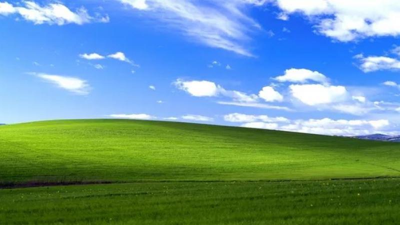 (foto, video) Cum arată în realitate celebra imagine de fundal de la Windows XP