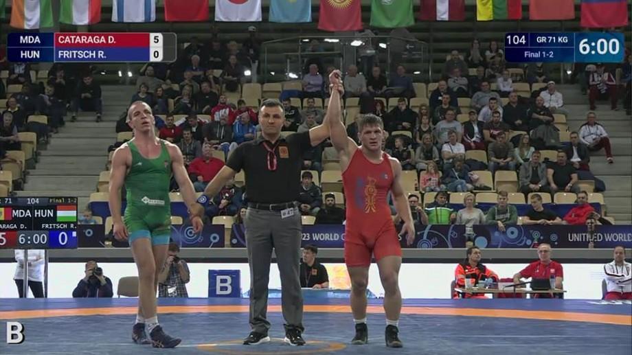 Daniel Cataraga a devenit campion mondial la U-23. Luptătorul de stil greco-roman a învins cu 5-0