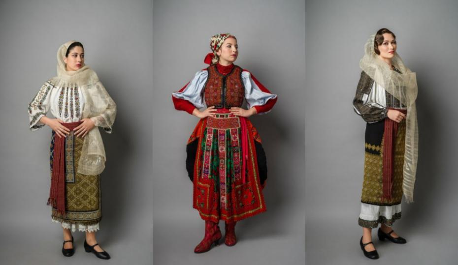 Amprenta trecutului. Cele mai frumoase costume tradiționale românești, care au mai mult de 100 de ani