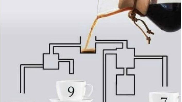 (foto) Un test care îți testează atenția. Care ceașcă se va umple cel mai repede?