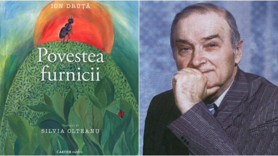 """""""Povestea furnicii"""" de Ion Druță a fost inclusă în lista de cărți recomandate din 196 de țări ale lumii"""