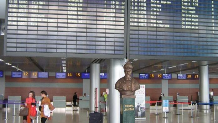 Trafic aerian perturbat în Ucraina. Au fost înregistrate amenințări cu bombă în șase aeroporturi