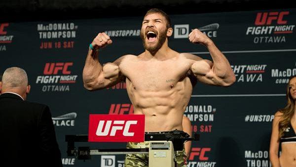 Luptătorul moldovean de arte marțiale mixte, Ion Cuțelaba, a fost suspendat provizoriu pentru dopaj