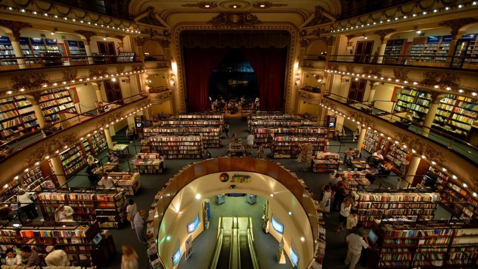 (foto) Cum arată una dintre cele mai frumoase librării din lume