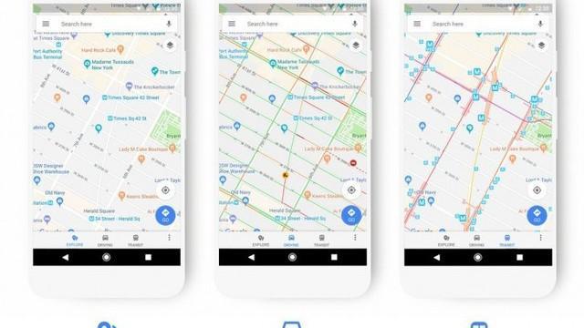 Google Maps primeşte o nouă schemă de culoare, evidenţiind mai bine locaţiile de pe hartă şi denumirile. Cum arată noua actualizare