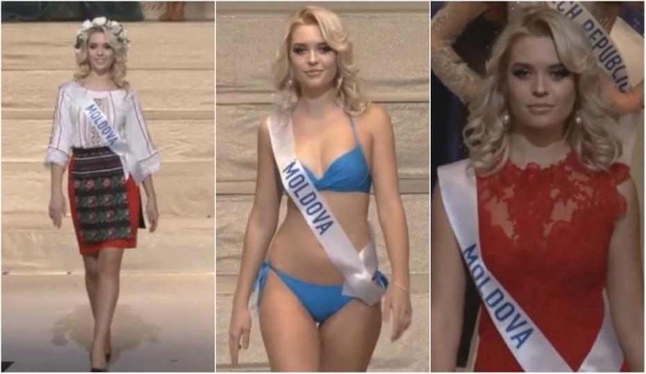 (foto, video) Cum s-a prezentat tânăra din Moldova, Daniela Bejan, în finala concursului Miss International 2017