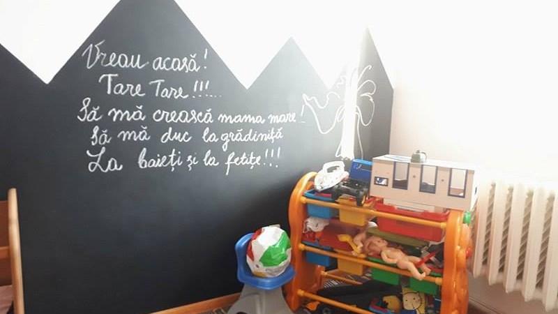 (foto) A fost inaugurată camera de joacă pentru copii de la penitenciarul pentru femei de la Rusca