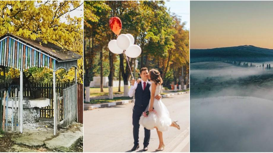(foto) Moldova, văzută prin filtrele de pe Instagram. Ungheni – regiunea cu cer albastru și apusuri ruginii