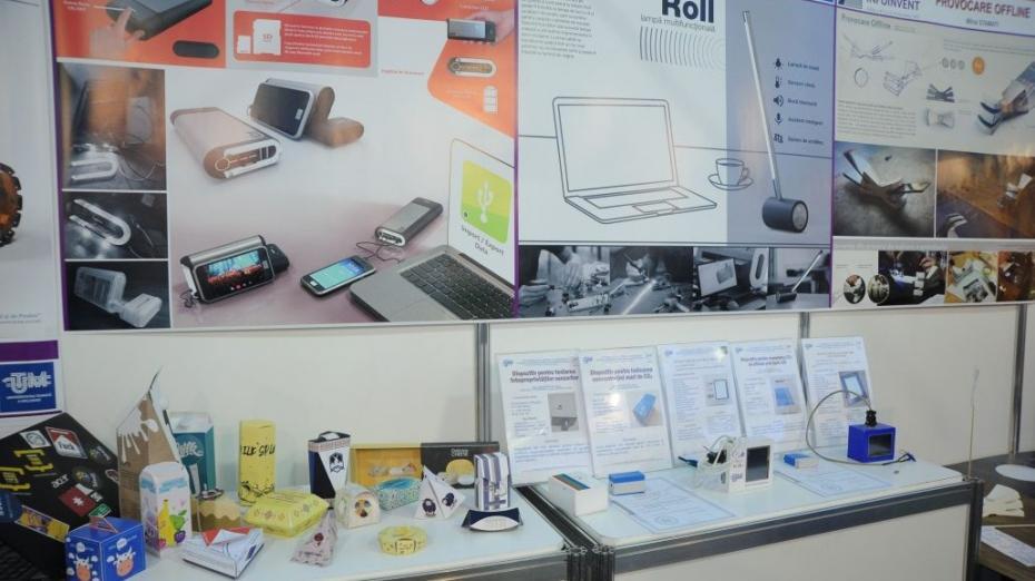 (foto) Instalaţia mamografică mobilă, Em power bank sau colecții vestimentare. Studenții de la UTM și-au prezentat exponatele la INFOINVENT 2017