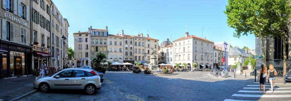 Place Saint Epvre, Nancy, Franța