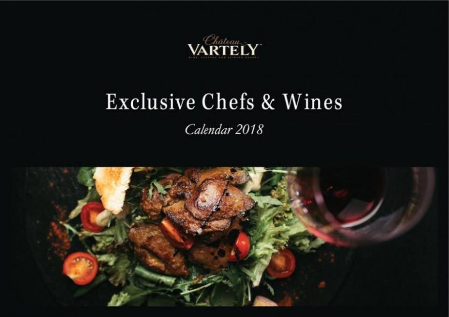 (foto, video) Descoperă cei mai buni bucătari, restaurante, vinuri și impresii în Calendarul Chateau Vartely 2018