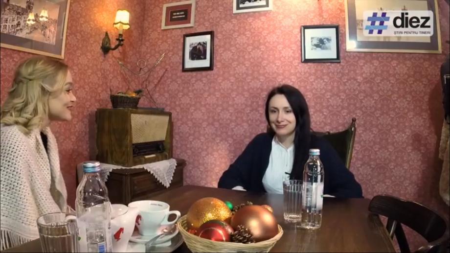 """(video) Interviu cu Nata Albot. """"Pe mine umorul lui Andrei m-a ajutat să depășesc momente complicate din viața mea. Ador când se face într-o ureche cu Magda"""""""