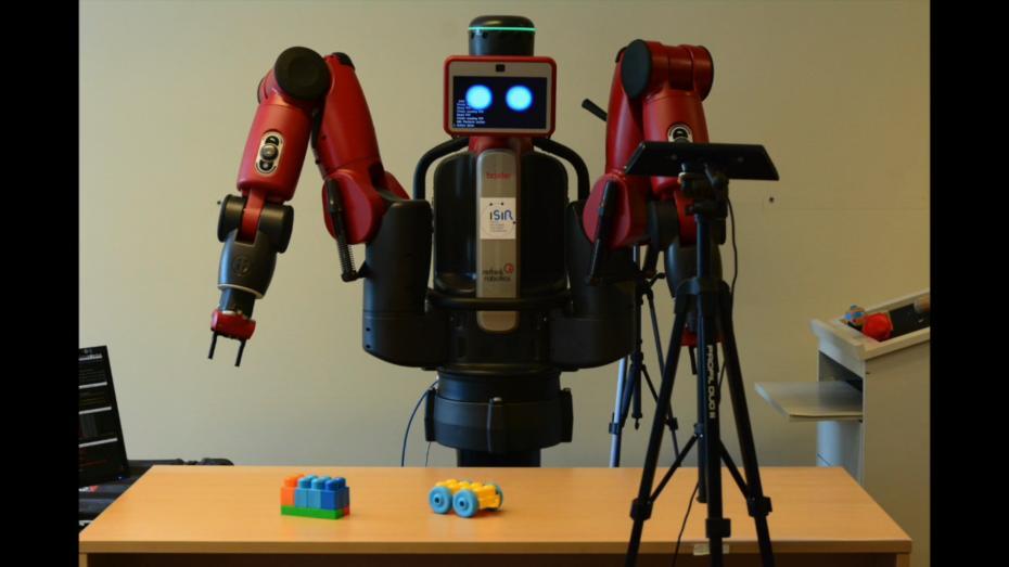 Robotul Baxter, ISIR, Paris