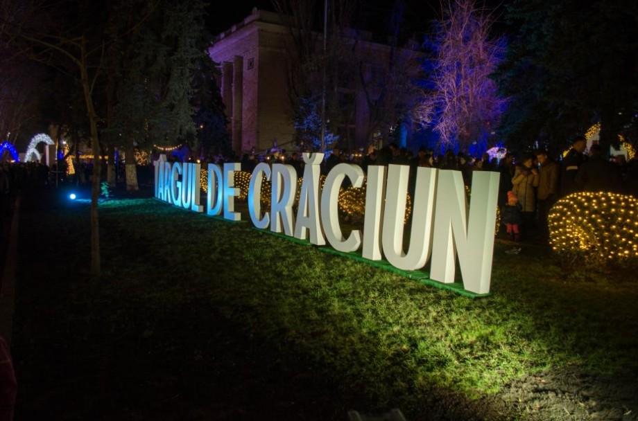 Potrivit organizatorilor, Târgul de Crăciun din Chișinău a fost vizitat de peste un milion de persoane