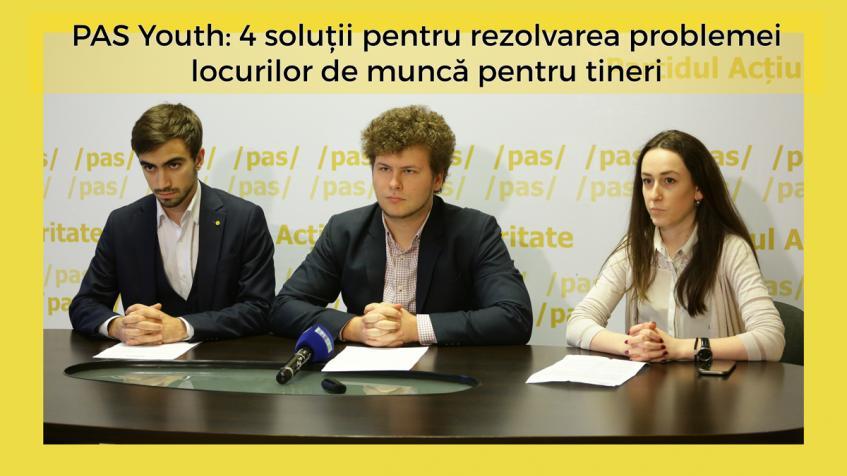 (video) PAS YOUTH: 4 soluții care pot contribui la soluționarea problemei locurilor de muncă pentru tineri