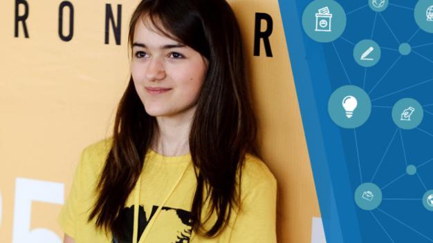 Au Parlament, Guvern și Curtea Supremă! Ioana Vatamanu-Mărgineanu, despre puterea elevului de la Liceul Academiei de Știință