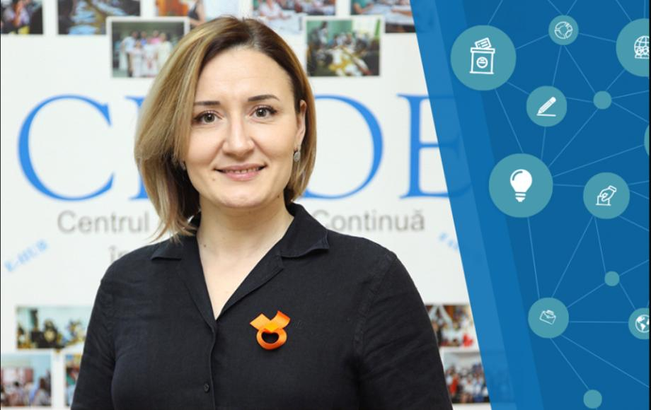 """""""Pentru că viaţa nu este despre diplome și premii, este despre… oameni"""". Discursul profesoarei Natalia Țurcan la CICDE open talks"""