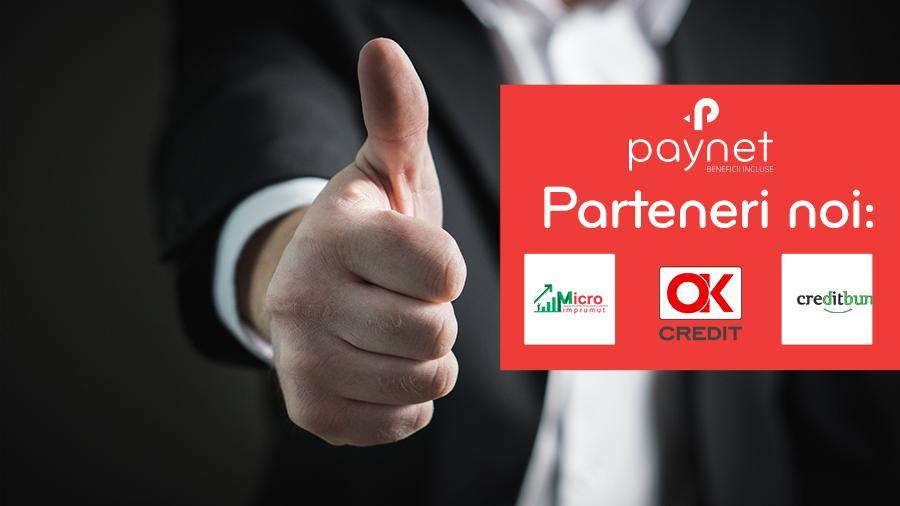 Noutate bună! Trei companii de creditare acceptă plata creditelor prin PAYNET