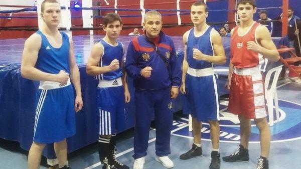 Patru boxeri din Moldova au cucerit medalii de aur și argint la turneul de juniori în Israel