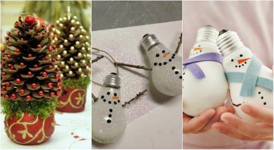 (foto, video) Decorațiuni pentru Crăciun handmade. Cum poți din bani puțini să creezi lucruri frumoase