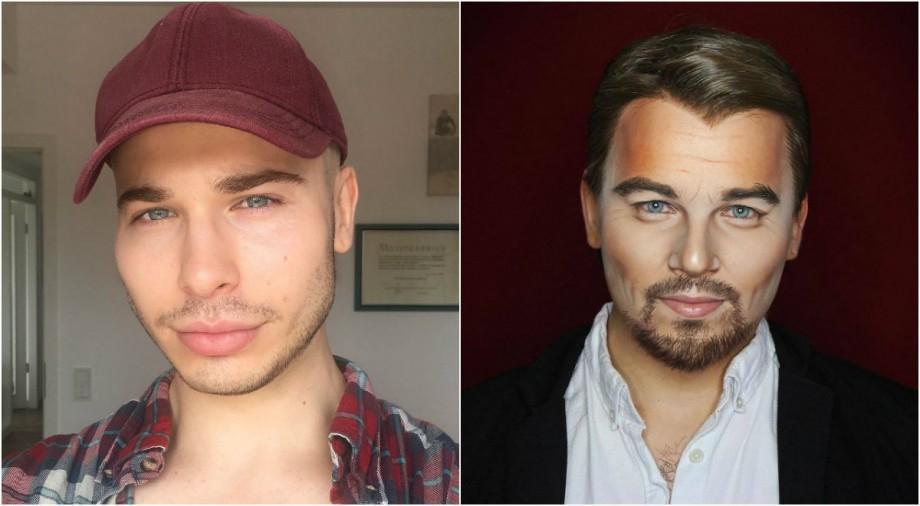 (foto) Michael Jackson, Johnny Depp sau Elizabeta a II-a? În ce vedete se poate transforma un artist make-up din Brighton?