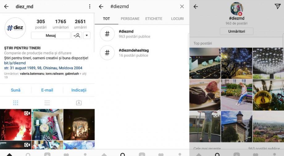 """Instagram a adăugat o nouă opţiune. Cum poți da """"folllow"""" pentru hashtag-uri"""