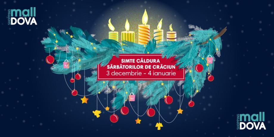 Serile colindelor de Crăciun continuă la Shopping MallDova!