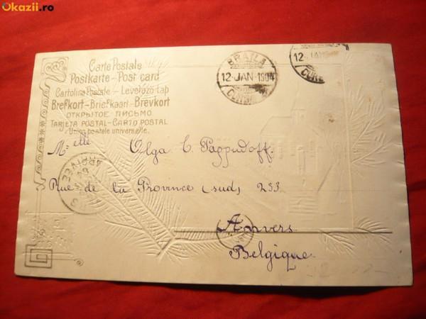 Felicitare de Crăciun din 1905