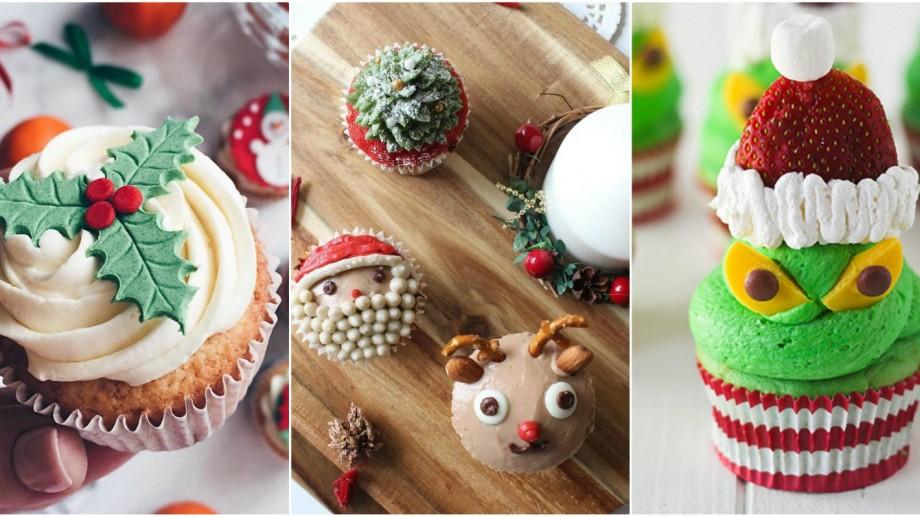 (foto) Cele mai creative idei de cupcake-uri apetisante. Colorează-ți masa de Crăciun într-un mod mai deosebit