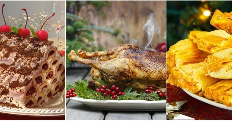 Tamales, porc fript sau gâscă condimentată. Care sunt bucatele tradiționale de Crăciun în mai multe țări