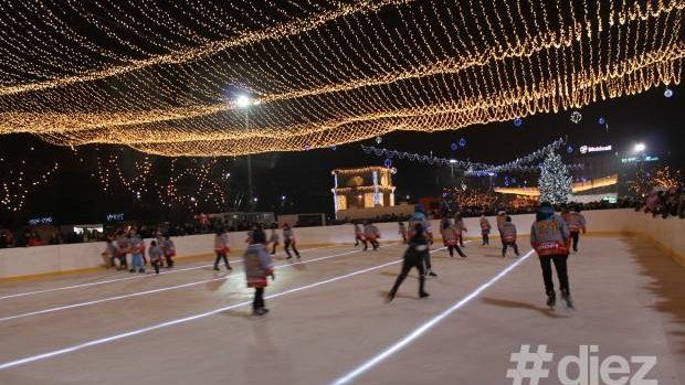 (video) Târgul de Crăciun. Anul acesta o tură pe gheață va costa de două ori mai puțin