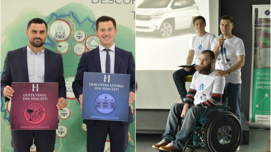 (video) Cunoaște-l pe Constantin Vlas, cel mai tânăr vicepreședinte de raion din Moldova, care a contribuit la elaborarea mașinii AVAI