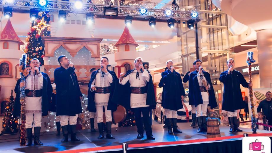 Tombola de Crăciun la Shopping MallDova. Zeci de premii și un show muzical de excepție