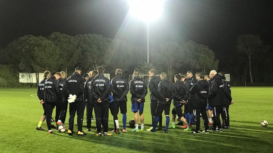(foto, video) Naționala Moldovei se pregătește intensiv în ajunul meciului amical cu selecționata Coreei de Sud