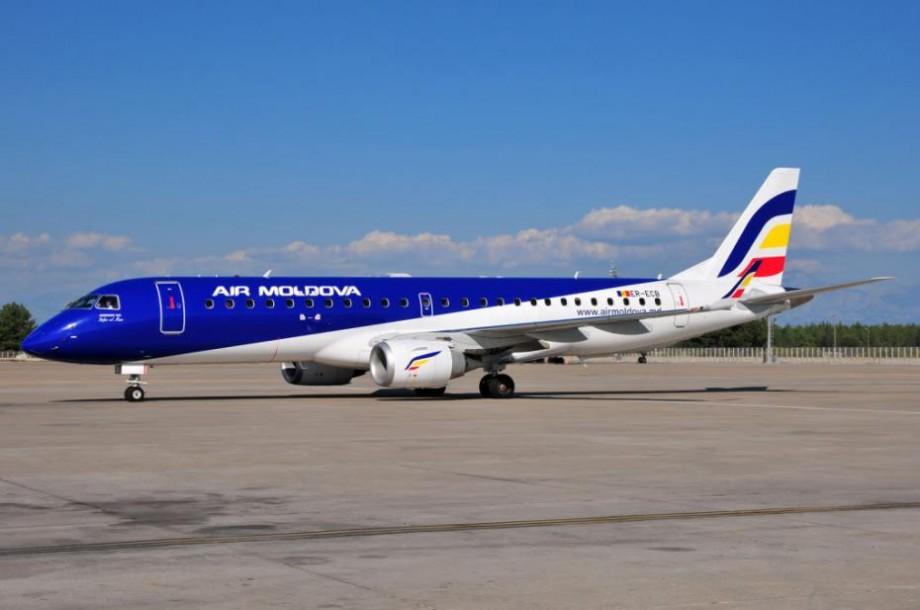 O aeronavă Air Moldova, de pe cursa Chișinău-Verona, s-a întors din zbor din cauza unei fisuri în parbriz