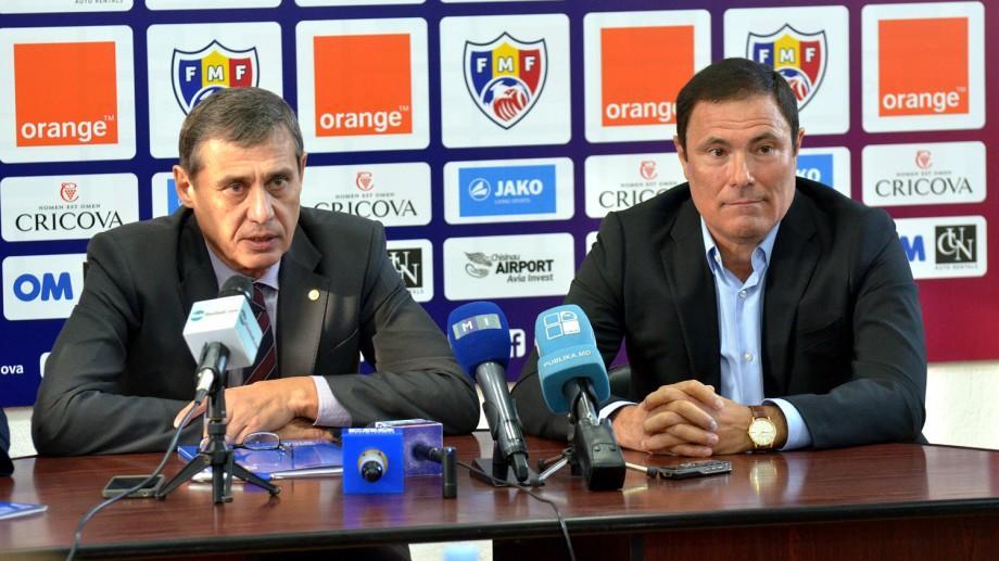 (foto) Alexandru Spiridon este nou antrenor principal al selecționatei Moldovei