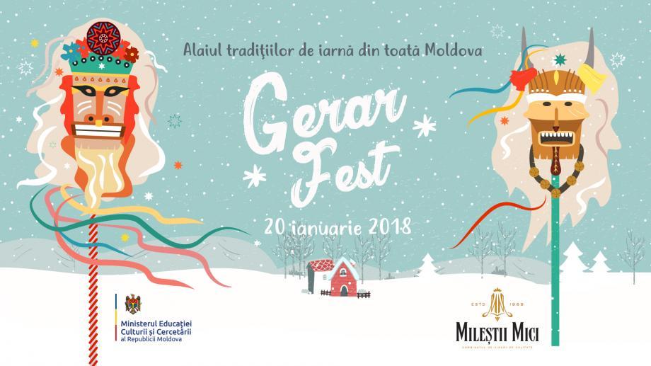 Tradițiile și obiceiurile din toate colțurile Moldovei le poți găsi frumos adunate la GERAR FEST