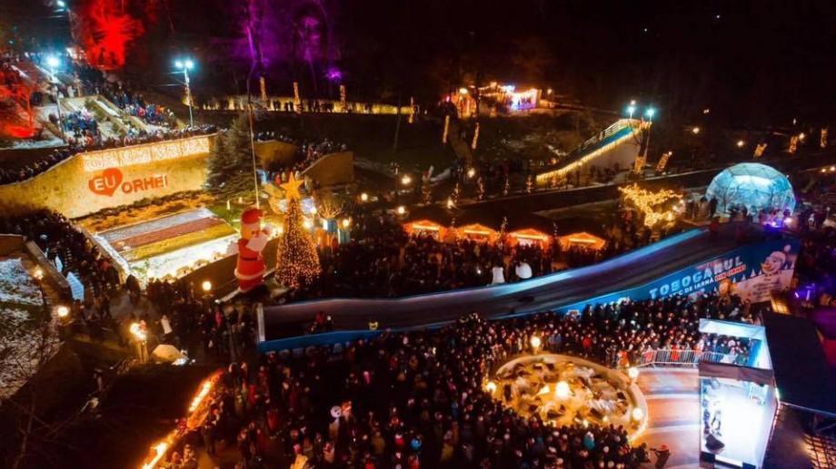 Zeci de mii de locuitori ai țării au beneficiat de transport gratuit pentru a vizita Târgul de Crăciun din Orhei