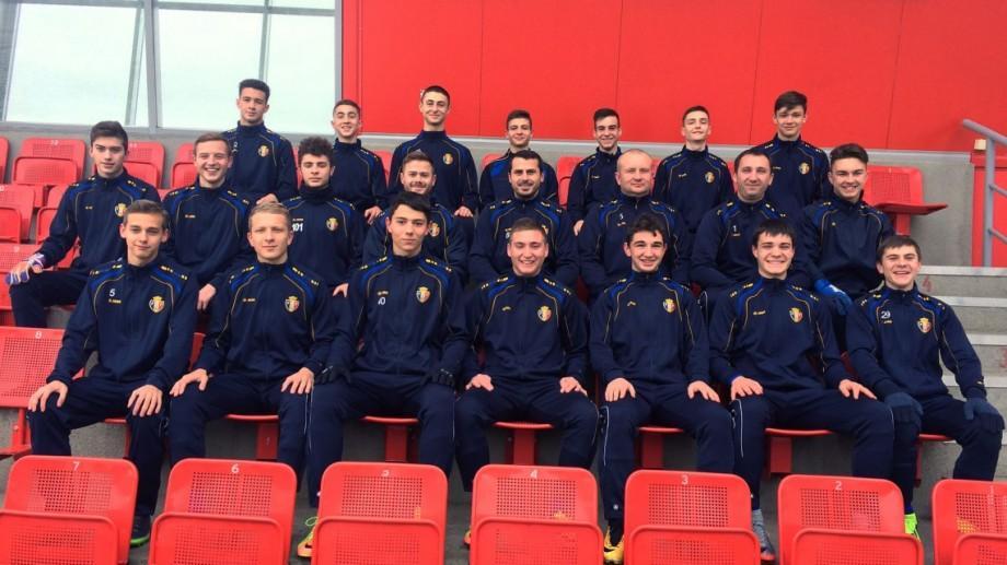 Prima victorie la turneul din Belarus. Naționala Moldovei U-18 a câștigat meciul împotriva Kazahstanului