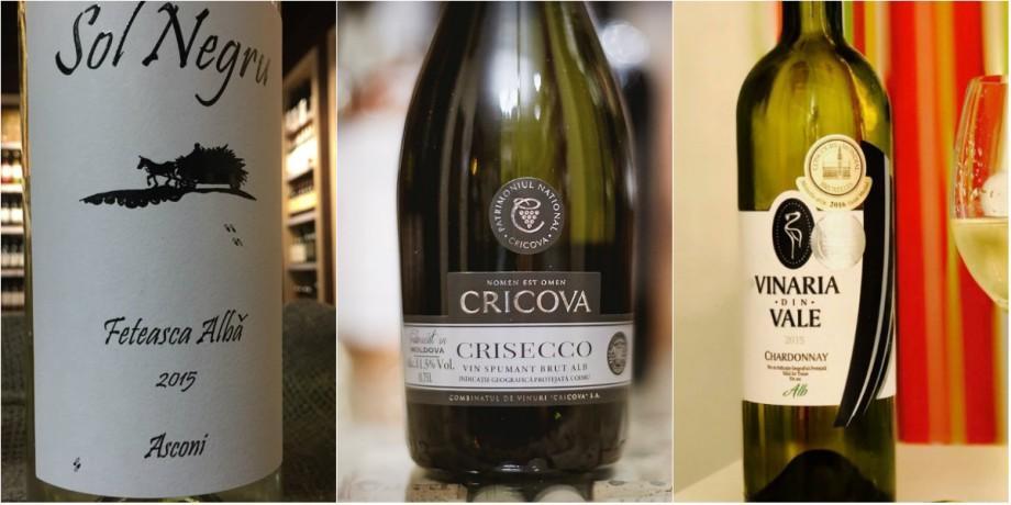 Top cinci vinuri albe mai ieftine de 100 de lei, care pot fi considerate o alegere bună pentru orice eveniment