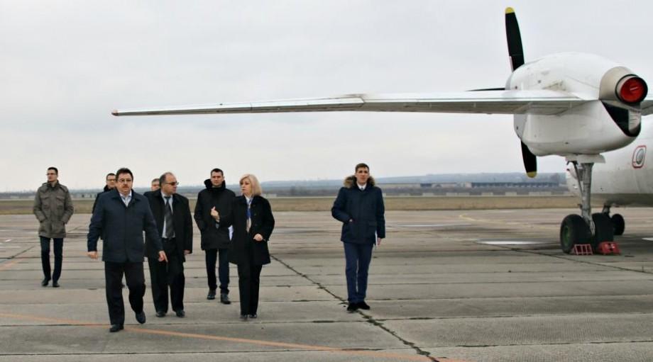 Ce planuri are Ministerul Economiei pentru Aeroportul Mărculești