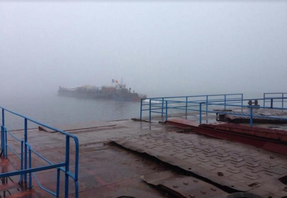 """Postul vamal de tip debarcader """"Molovata"""" și-a sistat temporar activitatea din cauza ceții dense"""